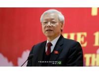 Đại Hội Đảng XII : Tổng bí thư Nguyễn Phú Trọng tổ chức họp báo